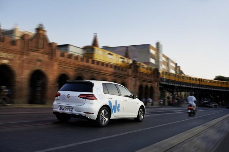 """Volkswagen откроет каршеринг электромобилей """"We Share"""" в Берлине во втором квартале 2019 года, годом позже сервис запустят в Европе и США"""