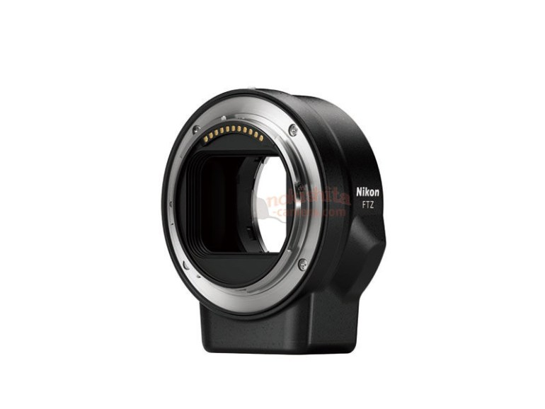 Опубликованы изображения новых беззеркальных камер Nikon, объективов и адаптера к ним