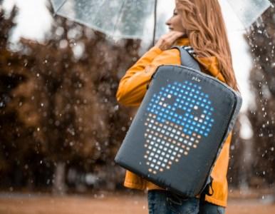 Украинский стартап вышел на Kickstarter с анимированным рюкзаком PIX