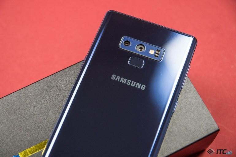 сканер Galaxy Note9