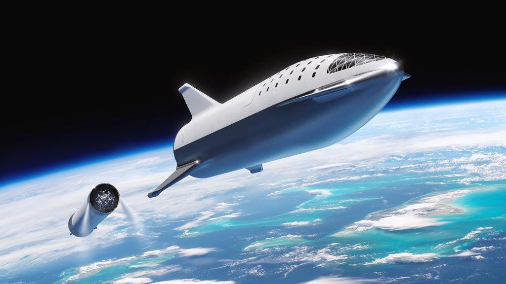 """Илон Маск  BFR (абревіатура від """"Big F --- ing Rocket"""", або """"Big Falcon Rocket"""")"""