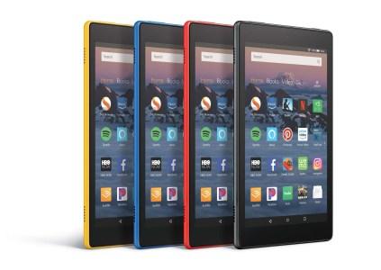 Amazon анонсировала планшет Fire HD 8 с постоянным доступом к Alexa и детскую модификацию Fire HD 8 Kids Edition