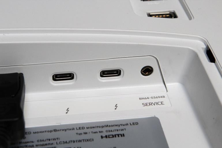 порты Samsung C34J791