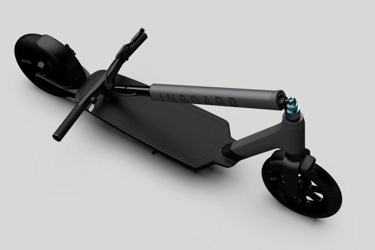 Американская компания Inboard представила электрический самокат Glider со сменными батареями, двигателем мощностью 750 Вт и ценником $1299