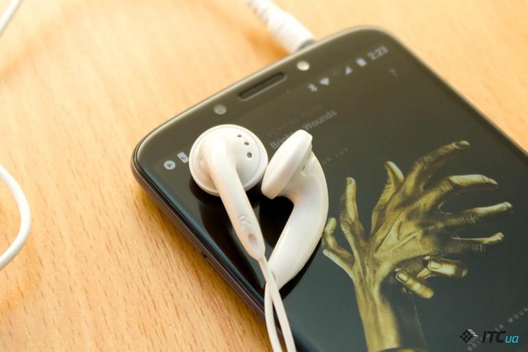 звук Motorola E5 Plus