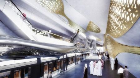 Три новые станции метро в Днепре спроектирует известное архитектурное бюро Захи Хадид