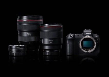 Canon анонсировала полнокадровую беззеркальную камеру EOS R и объективы к ней
