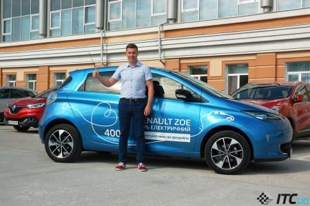 Александр Мытник, направление «Электромобили» компании «Рено Украина»: о вере дилеров, прибыльности, новинках Renault