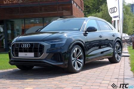 Audi Q8 в Украине: два мотора, три решетки, пять радаров – за все 57-65 тыс. евро