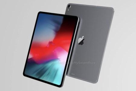 Свежие рендеры планшета iPad Pro 12.9 (2018) указывают на новый безрамочный дизайн без «челки» и отсутствие аудиопорта [фото, видео]