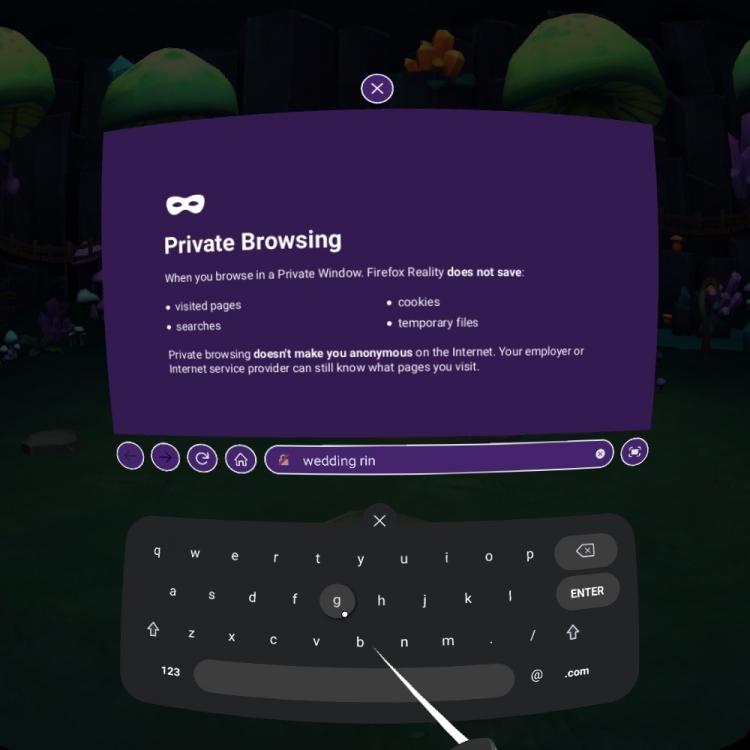 Mozilla представила финальную версию браузера Firefox Reality для очков и шлемов виртуальной реальности