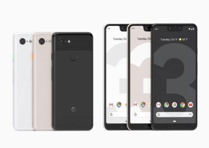 Анонсированы смартфоны Google Pixel 3 и 3 XL: более крупные дисплеи и улучшенные камеры с функциями на базе ИИ