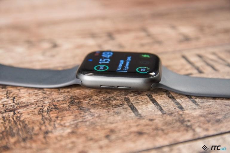звук Apple Watch Series 4
