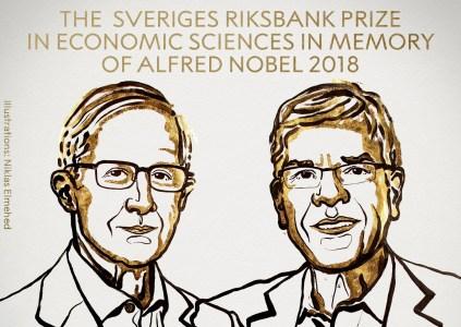 Нобелевская премия по экономике 2018: влияние климата и инноваций на экономику