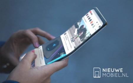 Складной смартфон Samsung с гибким экраном не выйдет раньше 2019 года
