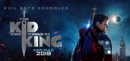 Первый трейлер фэнтези-фильма The Kid Who Would Be King / «Рождённый стать королем» о школьнике, нашедшем Экскалибур