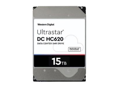 Western Digital создала HDD рекордной ёмкости – 15 ТБ