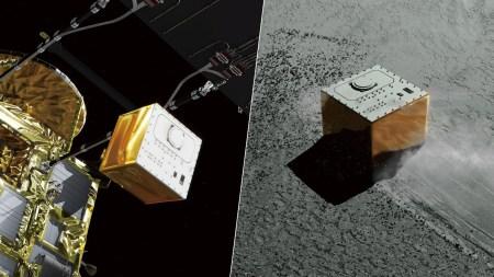 Зонд Hayabusa-2 успешно высадил на поверхность астероида Рюгу спускаемый аппарат MASCOT