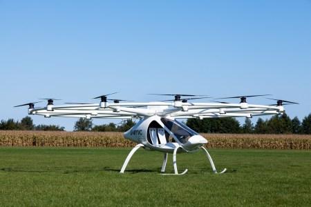 Аэротакси Volocopter испытают в роли летающей скорой помощи