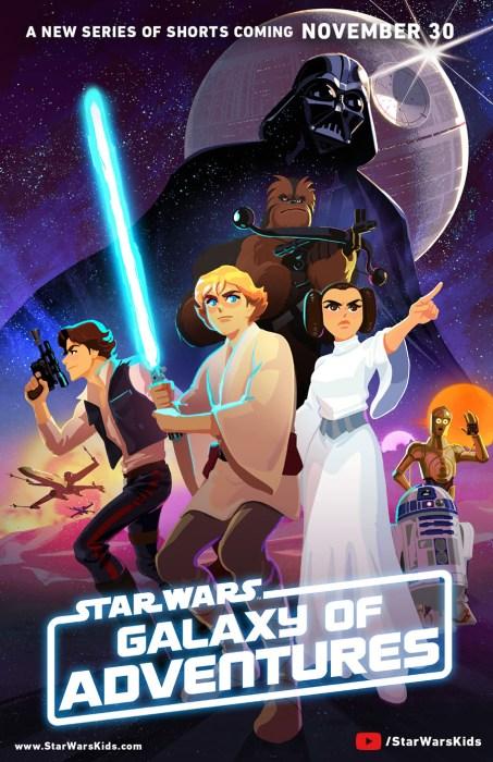 Disney запускает сайт Star Wars Kids и серию анимационных короткометражек Star Wars Galaxy of Adventures, чтобы привлечь к вселенной самых маленьких [трейлер]