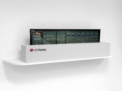 LG привезёт на CES 2019 сворачивающийся OLED телевизор
