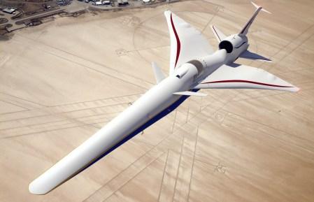 Lockheed Martin начинает строительство «бесшумного» сверхзвукового самолёта для NASA