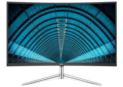 AOC выпустила изогнутый 32-дюймовый монитор C32V1Q по цене $229