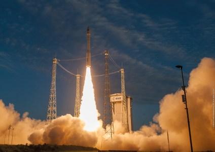 Состоялся 13-й успешный запуск ракеты Vega с украинским двигателем
