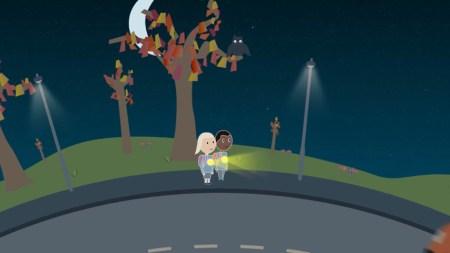 Гройсман предложил обеспечить детей светоотражающими средствами для повышения безопасности на дорогах в темное время