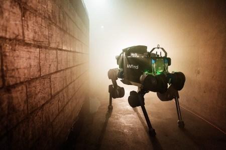Швейцарские инженеры тестируют робота ANYmal в условиях городской канализации