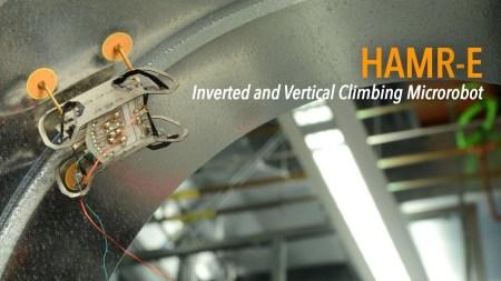 HAMR-E — роботаракан, способный проводить осмотр внутренних конструкций авиадвигателей