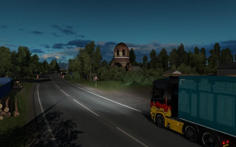 Euro Truck Simulator 2 – Beyond the Baltic Sea: вдоль моря и
