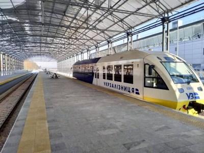 «Укрзалізниця» собирается интегрировать Kyiv Boryspil Express с киевским метро, построив новую платформу на Выдубичах