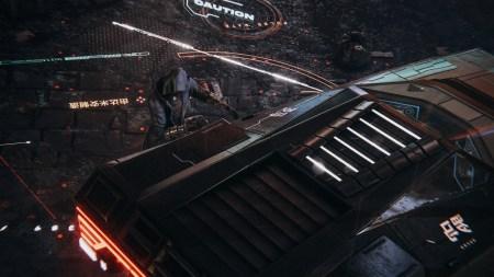 The Hunt, ещё один красочный киберпанк- концепт, созданный на движке Unity3D