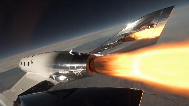 Космоплан Virgin Galactic VSS Unity впервые достиг границы космоса ??