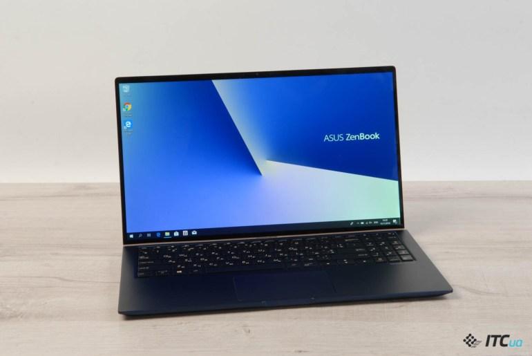 Zenbook 15 UX533FD – обзор ноутбука ASUS