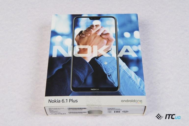 коробка Nokia 6.1 Plus