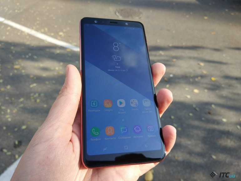 Обзор Samsung Galaxy A7 2018