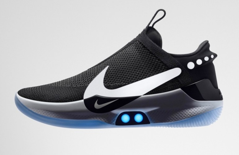 Nike Adapt BB – кроссовки с автоматической шнуровкой и управлением со смартфона, созданные специально для баскетболистов