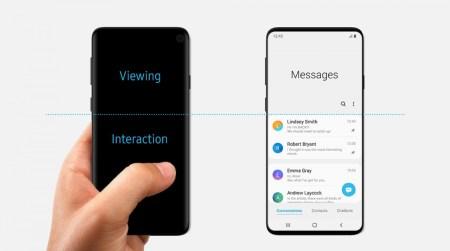 Утечка: первое официальное изображение Samsung Galaxy S10