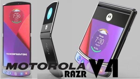 Опубликованы патентные изображения потенциального складного смартфона Motorola RAZR 2019 с гибким экраном