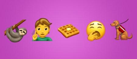 Unicode Consortium опубликовал список новых эмодзи, которые появятся в 2019 году