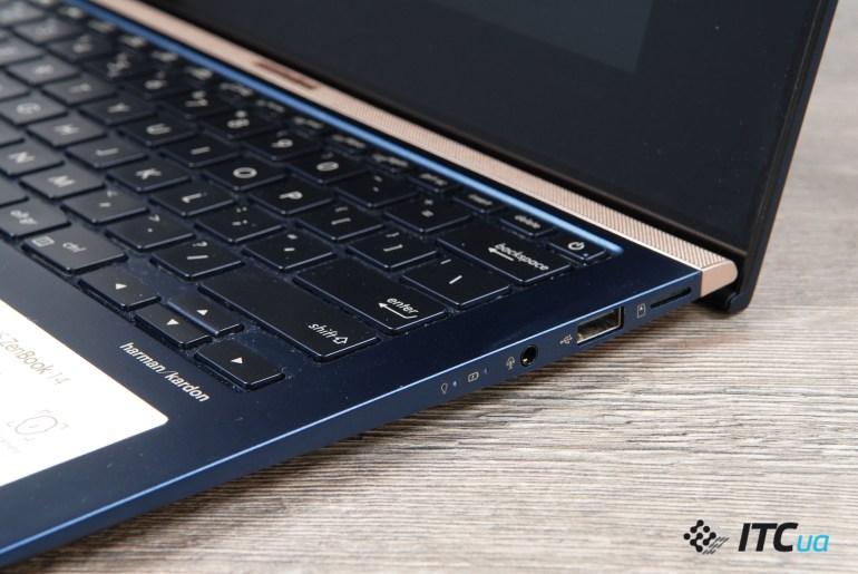 Обзор ультрапортативного ноутбука ASUS ZenBook 14 UX433FN