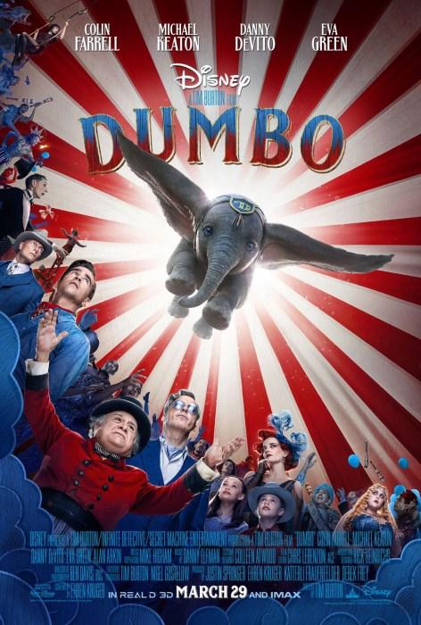 Финальный трейлер полнометражного фильма Dumbo / «Дамбо» от студии Disney