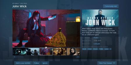 Steam убрал раздел «Видео» из главного меню и собирается удалить из магазина весь «неигровой» видеоконтент