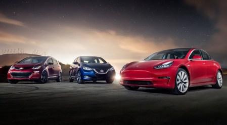 ZSW: По итогам 2018 года самая электромобильная страна — Китай, бренд — Tesla, модель — Tesla Model 3 (по показателям за все время — Китай, BYD и Nissan Leaf)