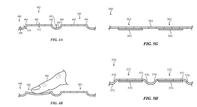 Apple может отказаться от физических клавиатур в ноутбуках в пользу виртуальных с тактильной обратной связью