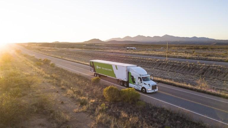 TuSimple стал первым стартапом-«единорогом» на рынке беспилотных грузовиков