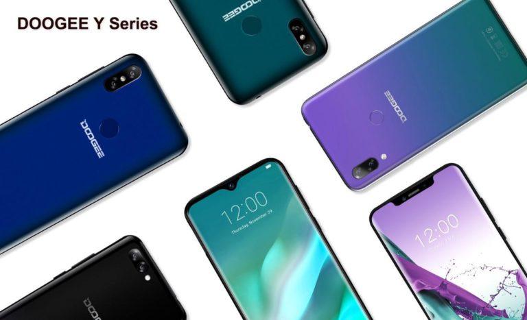 DOOGEE покажет на MWC 2019 модульный смартфон S90 и обновлённую линейку Y-series
