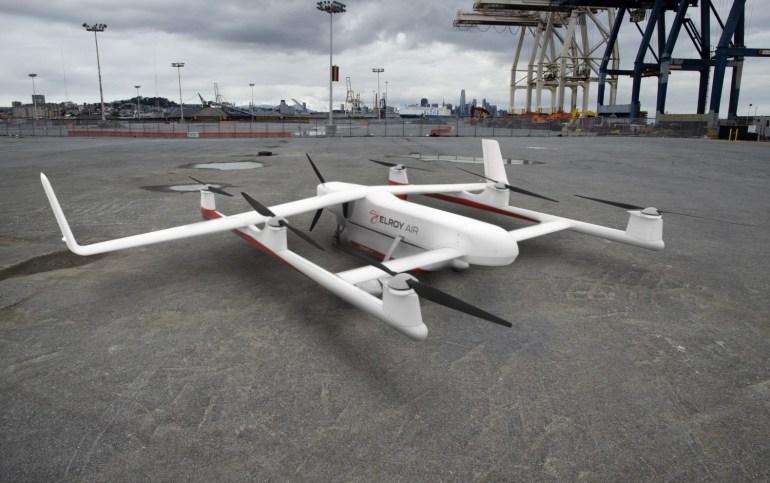 Chaparral - транспортный дрон грузоподъемностью 230 кг